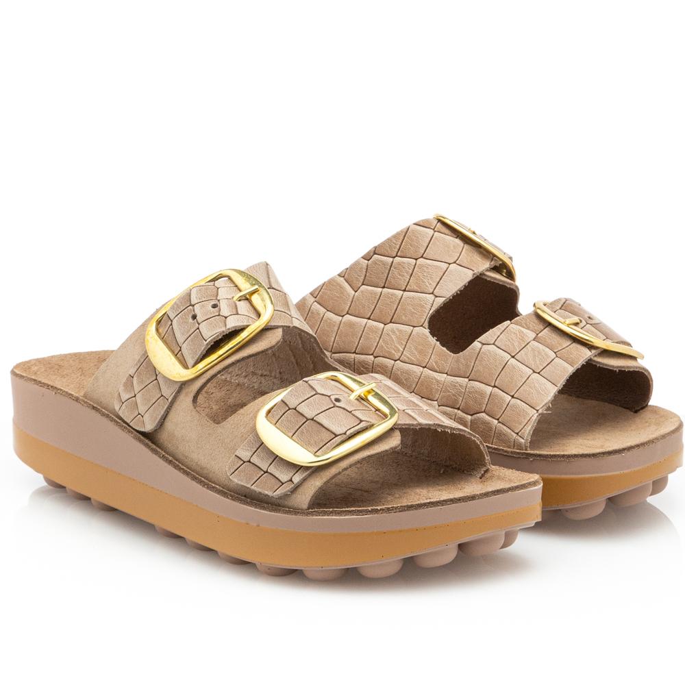 Γυναικεία παντόφλα ανατομική bubbles Sunny  sandals Fild 2 εγγράφες, LISA-23