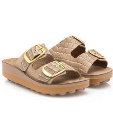 Γυναικεία παντόφλα ανατομική bubbles Sunny  sandals Fild 2 εγγράφες, LISA-23 2