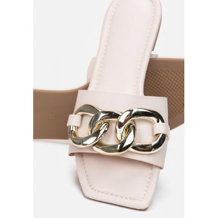 Γυναικεία παντόφλα σανδάλι με αλυσίδα AVENTIS ΒJ575