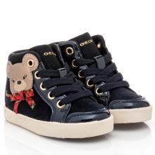 Κορίτσι μποτάκι Sneaker μπλέ Geox Β16D5C 022ΗΙ C4021 2