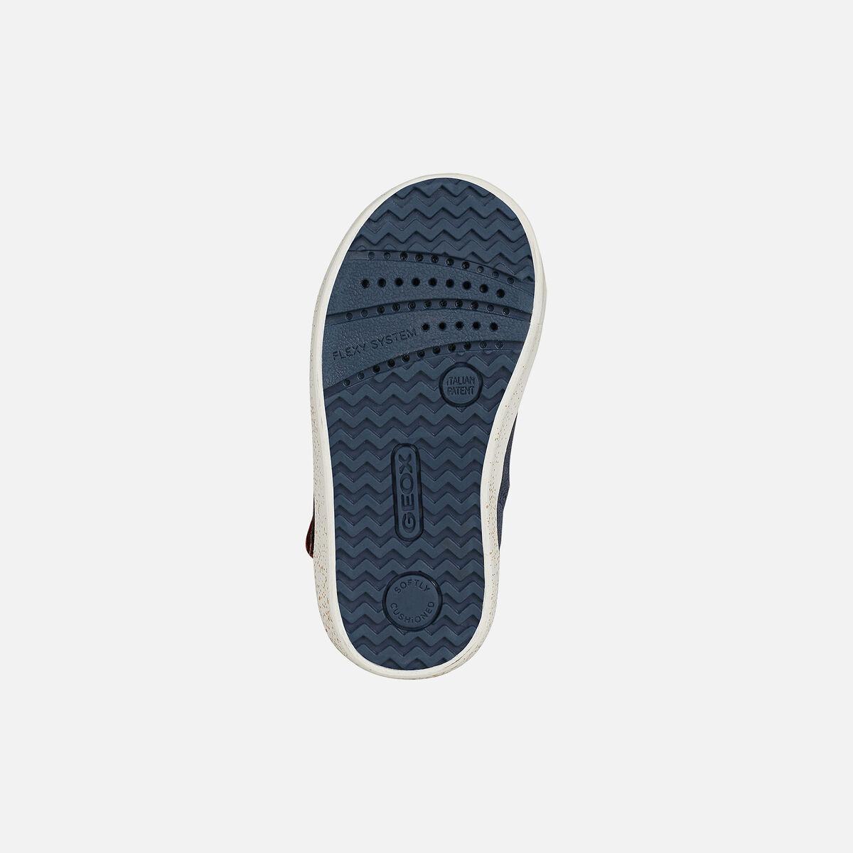 Κορίτσι μποτάκι Sneaker μπλέ Geox Β16D5C 022ΗΙ C4021