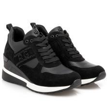 Γυναικείο sneaker καστόρι τυρολέ με κορδόνι Renato Garini  Ν119R340308R 2