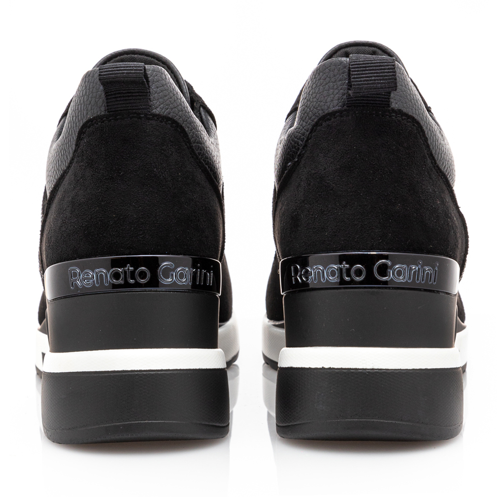 Γυναικείο sneaker καστόρι τυρολέ με κορδόνι Renato Garini  Ν119R340308R