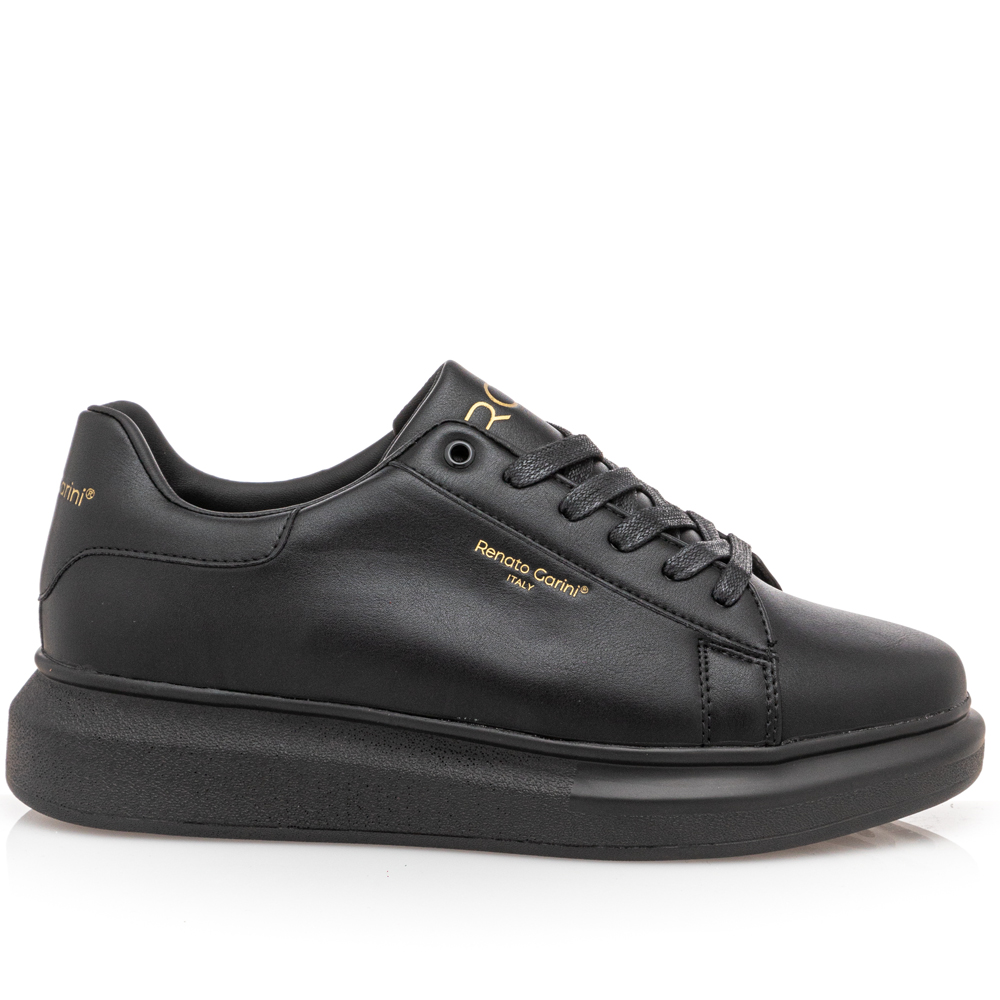 Ανδρικό sneaker μαύρο Renato Garini  Ν5700724370W .