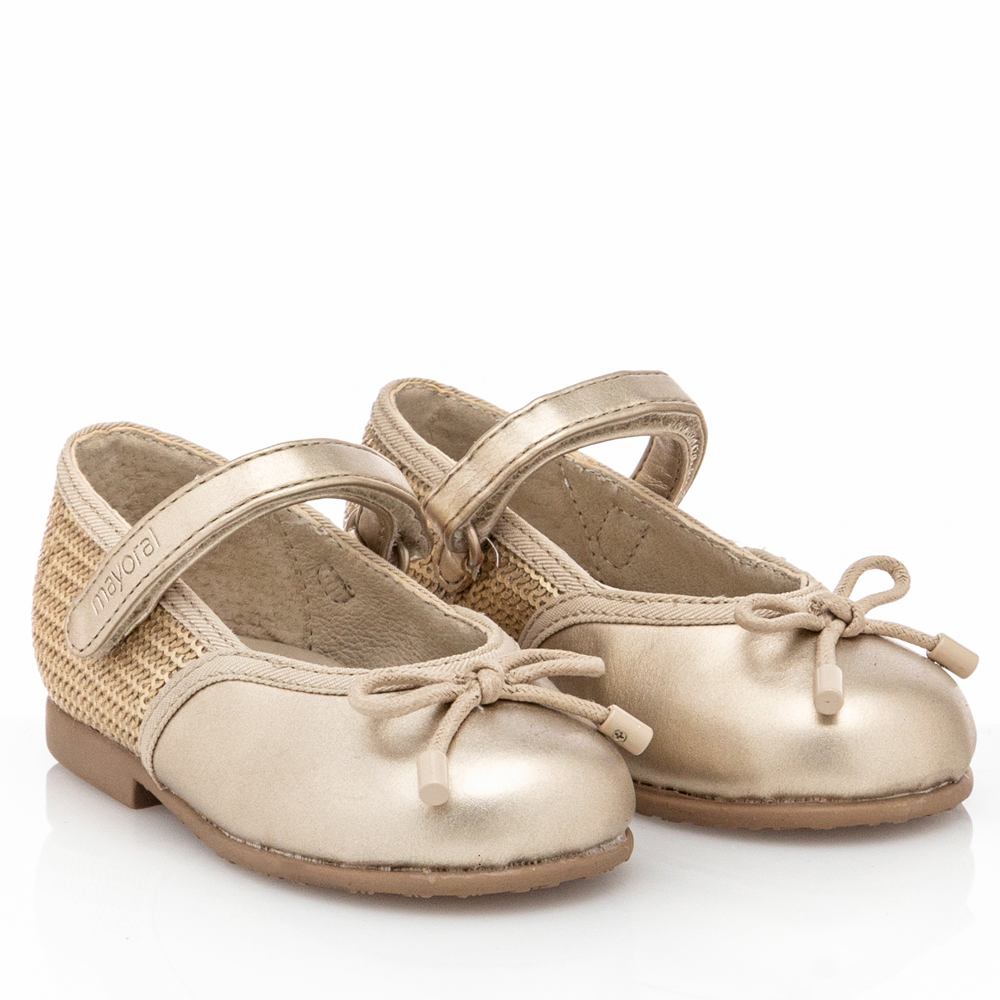 Μπαλαρίνα  φαντασία Baby κορίτσι χρυσό  Mayoral 11-42218-061