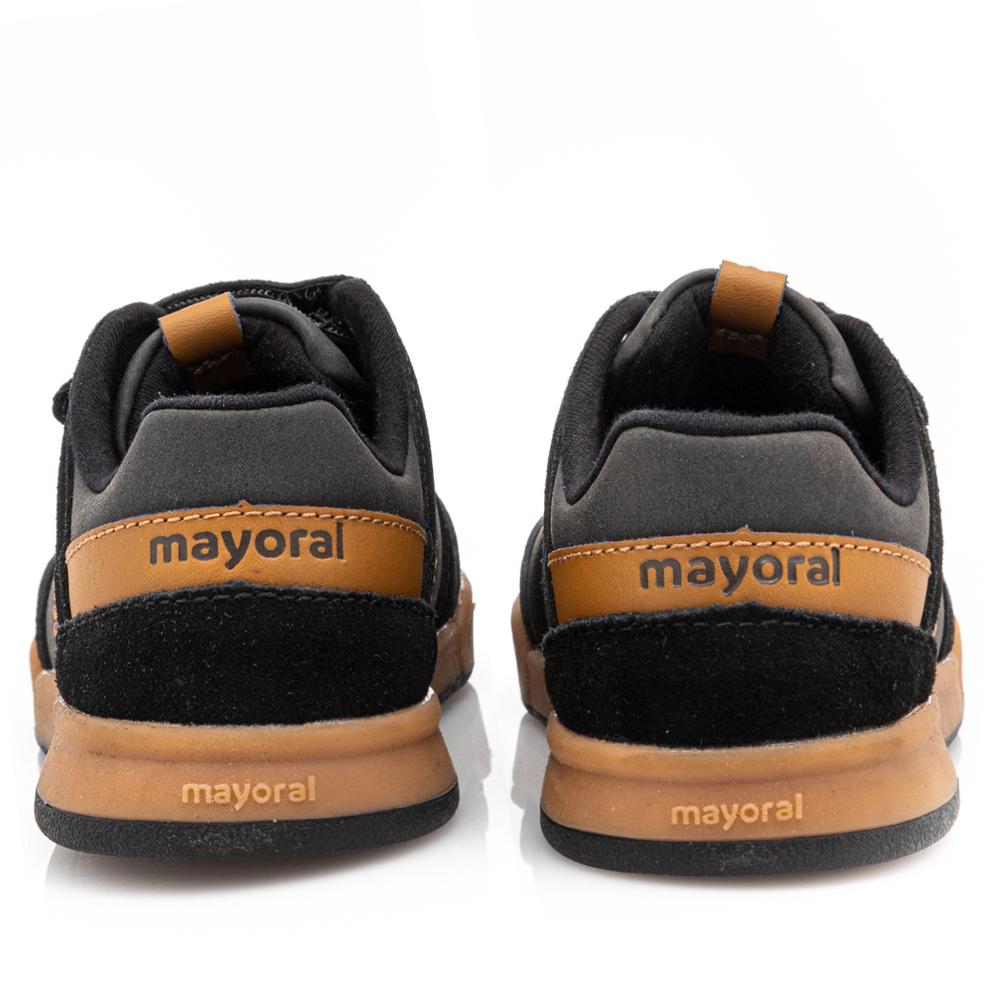 Παιδικό Sneaker με Σκρατς  Αγόρι Μαύρο Mayoral 11-46269-079