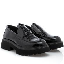 Γυναικεία  loafers διπατά λουστρινι κροκο. EXE Ν119R1553J79 2