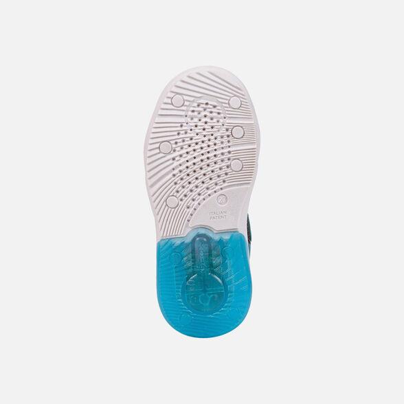 Αγόρι Sneaker Super Mario φωτάκια GEOX  J169ΥD  0FU50 C9221