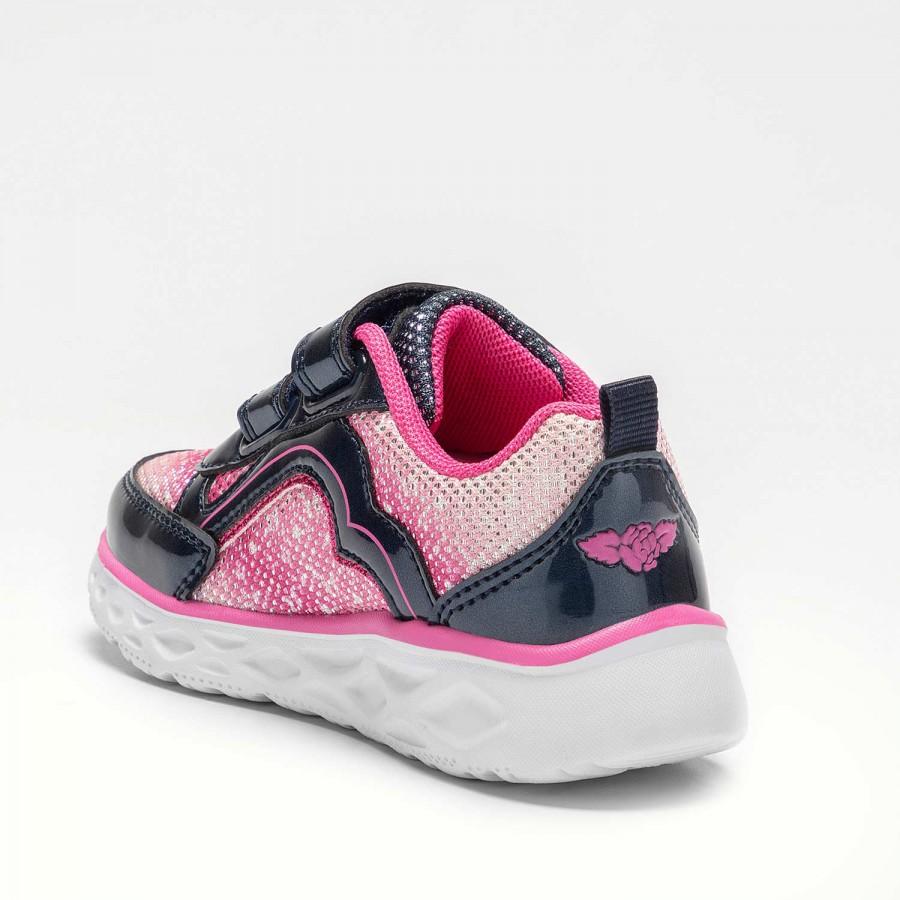 Παιδικό κορίτσι Sneaker φωτάκια μπλέ Lelli Kelly LK4840