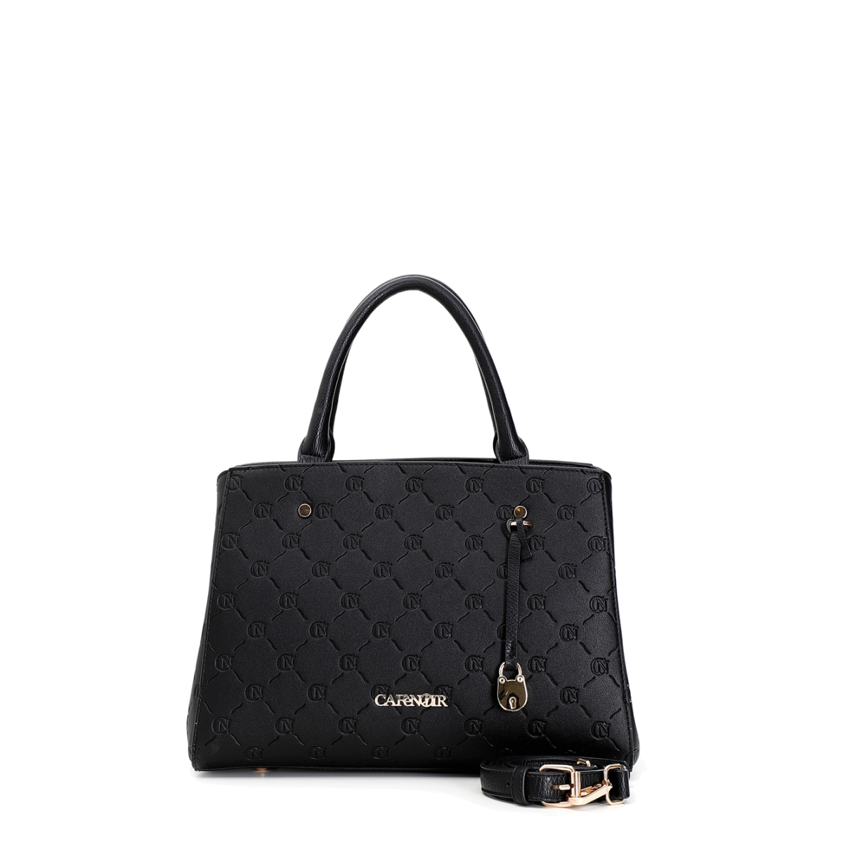 Τσάντα μαύρη CAFE NOIR C3ΕF0101