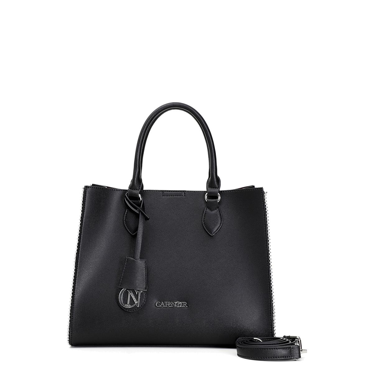 Τσάντα μαύρη CAFE NOIR C3ΒΗ0101