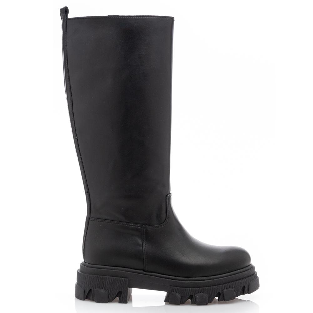 Sante Day2Day Boots Μαύρη μπότα 21-423-01