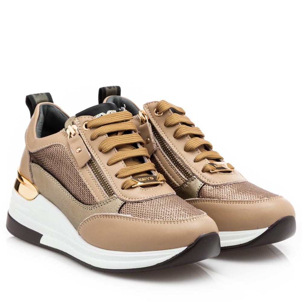 Γυναικείο Sneaker δέρμα KEYS K-5512