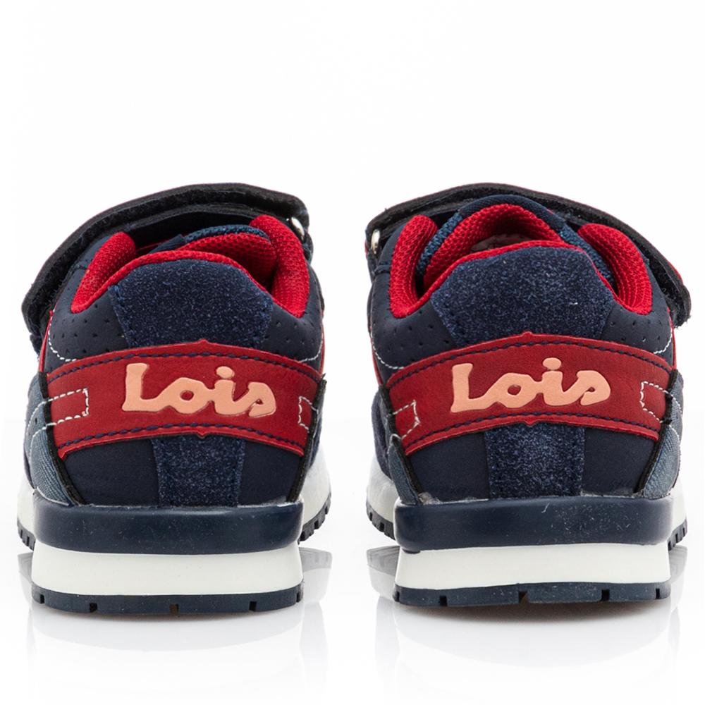 Αγόρι casual sneaker μπλέ Lois 107