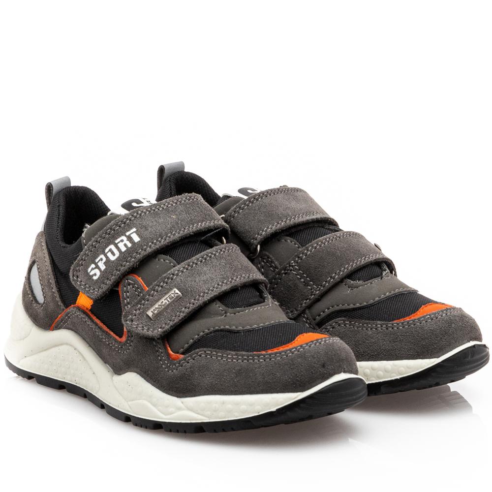 Αγόρι casual sneaker γκρί IMAC 3-524-21821-38