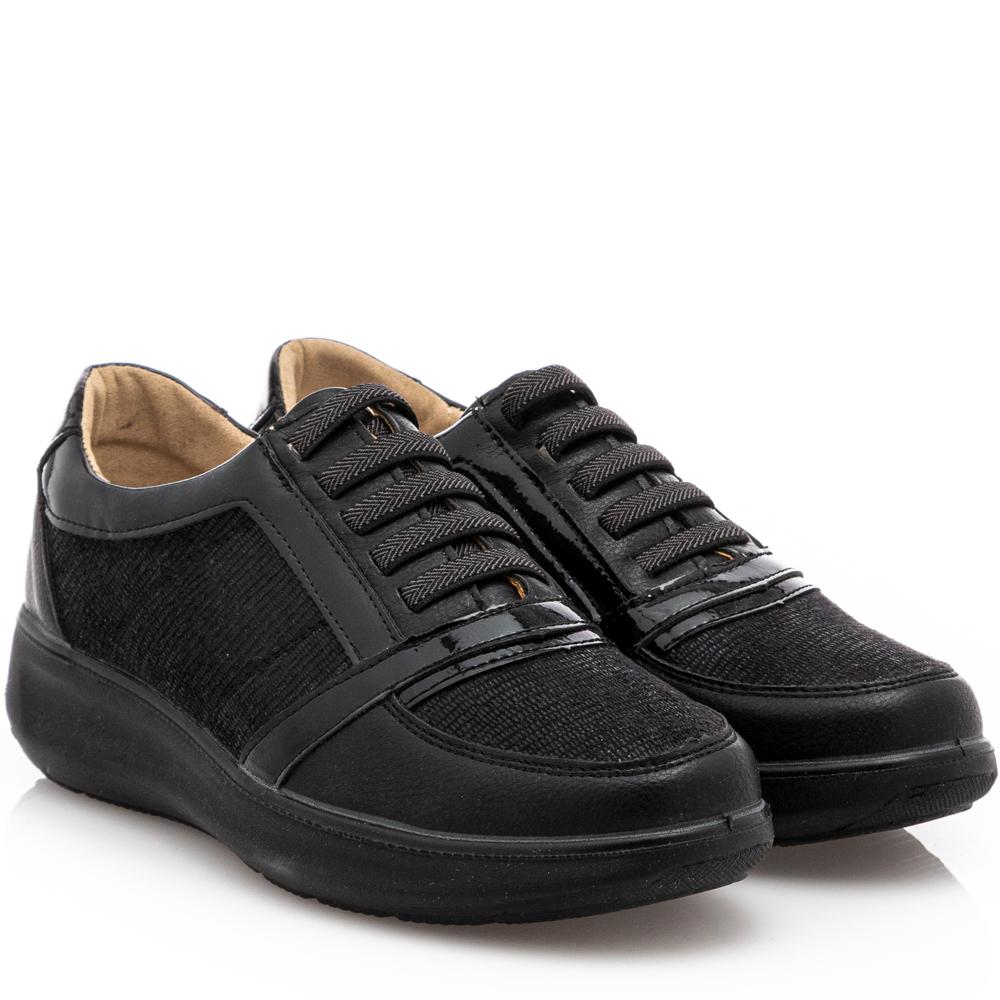 Γυναικείο παπούτσι μαύρο B-Soft 20304