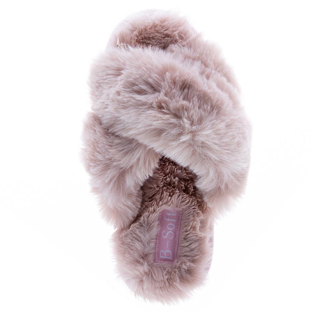 Γυναικεία παντόφλα γούνα B-soft 56/20-2316