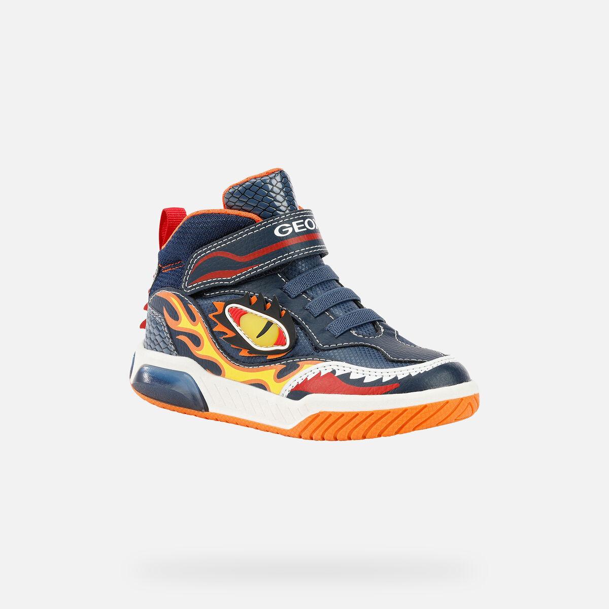 Αγόρι μποτάκι Sneaker φωτάκια Geox J169CΑ 0ΒU11 C0820