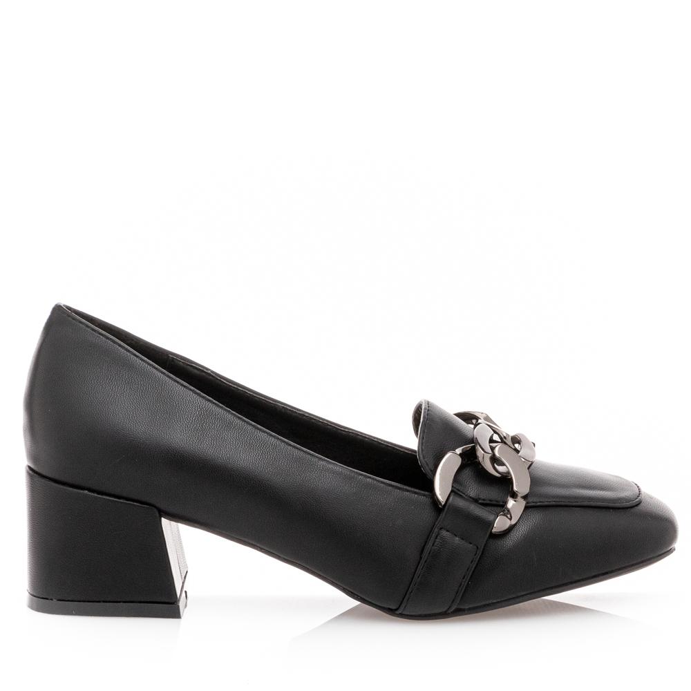 Γυναικεία γόβα μαύρο Adams Shoes 1-848-21514-29