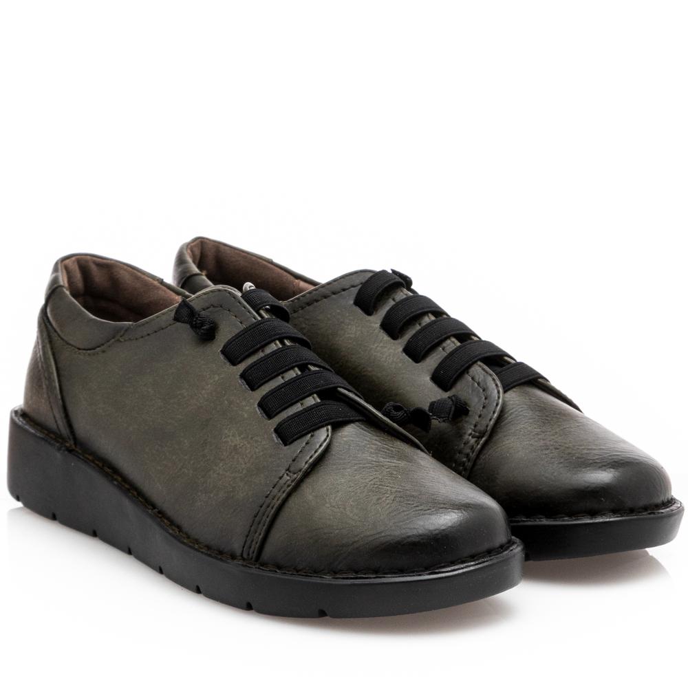 Γυναικείο Sneaker χακί Miss NV V63-14041-57