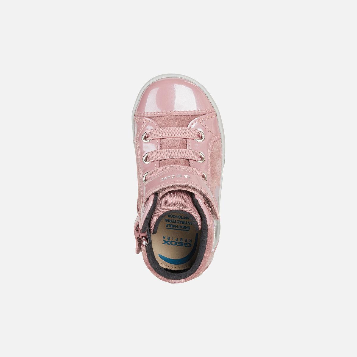 Κορίτσι μποτάκι ρόζ Geox Β16D5Β 022ΗΙ C8025