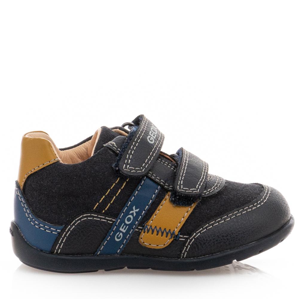 Αγόρι μπεμπέ sneaker 2 αυτοκόλλητα Geox Β041ΡΑ ΟΜΕΑF C4229