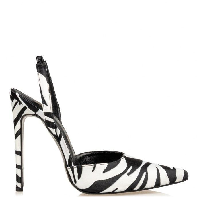 Envie γόβες στιλέττο Ε02-14115-105 zebra