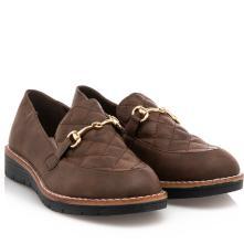 Γυναικείο loafer μαύρο B-Soft 18205 2