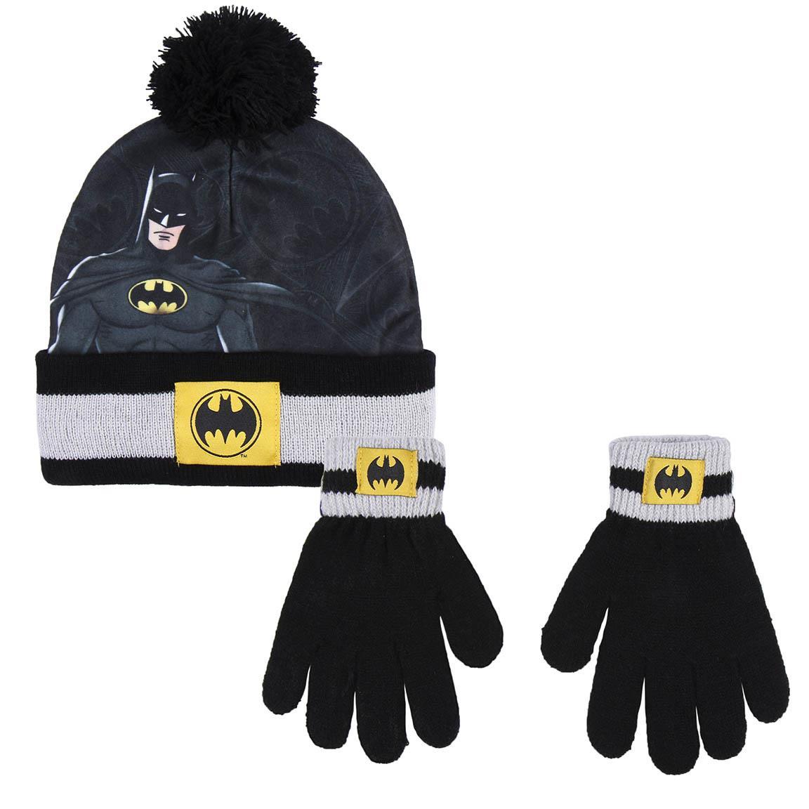 Αγόρι  σκουφάκι γαντάκι σετ Batman 2200007930