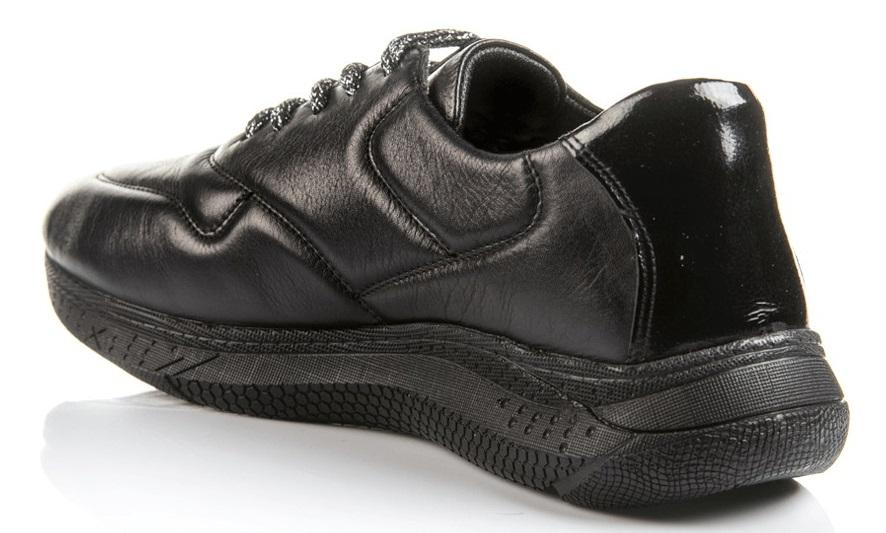 Δερμάτινα γυναικεία Boxer sneaker 98069-10-011