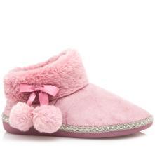 Γυναικεία παντόφλα μποτάκι γούνα B-Soft 93/18004