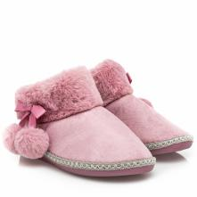 Γυναικεία παντόφλα μποτάκι γούνα B-Soft 93/18004 2