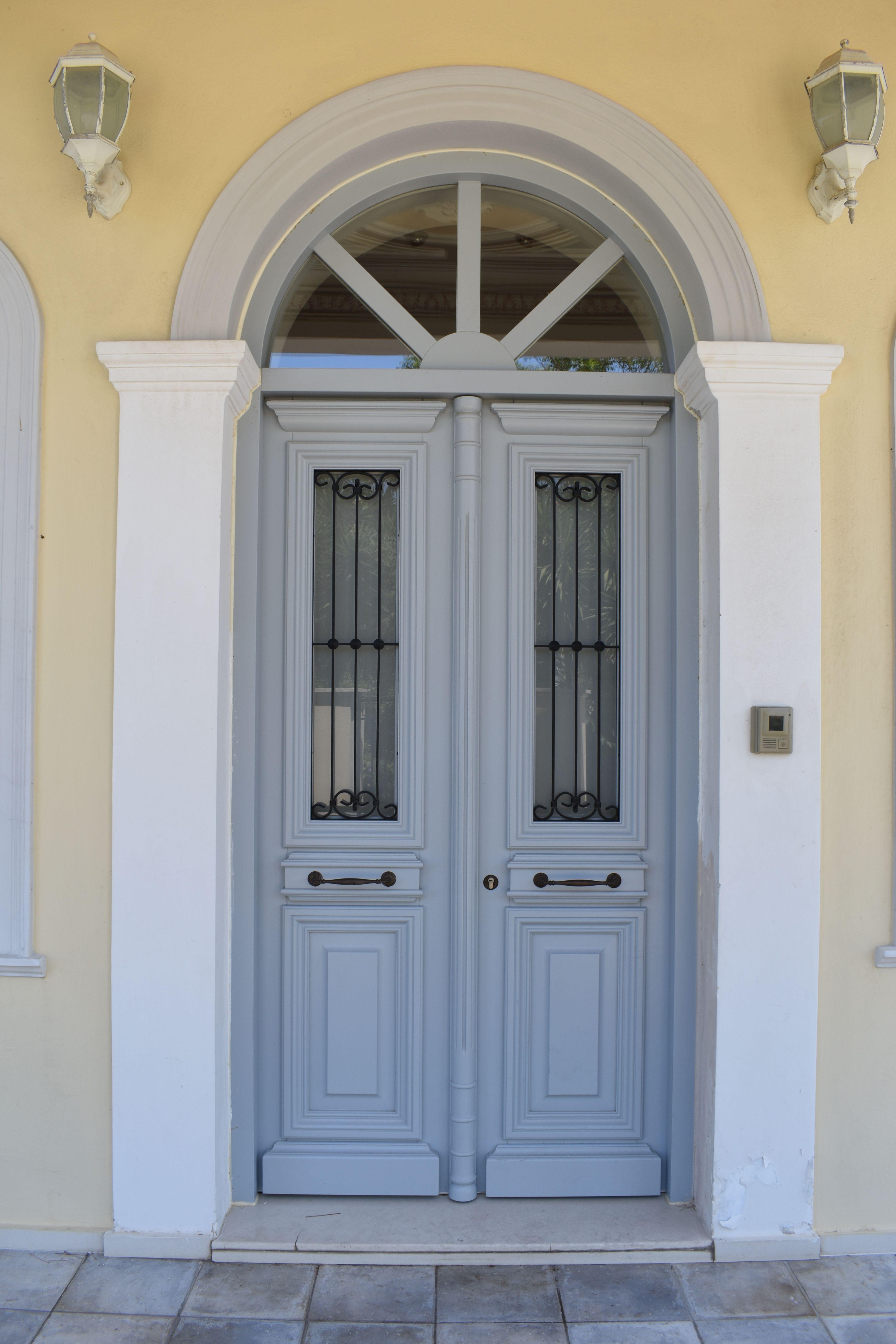 Neoclassical entrance door Κ101_2r4