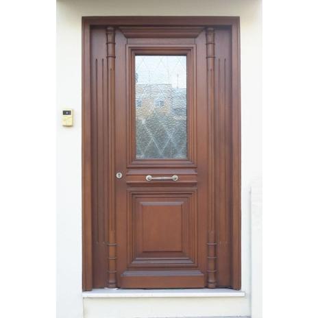 Neoclassical entrance door Κ101_t2