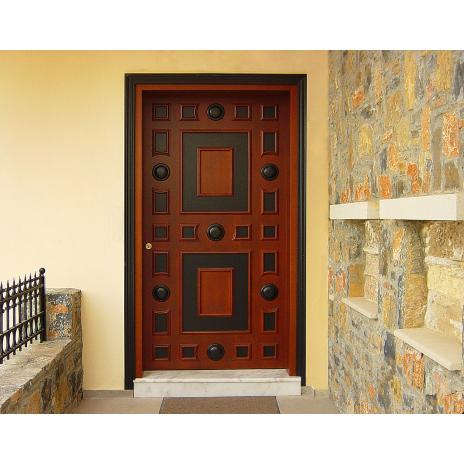 Neoclassical entrance door K104_a