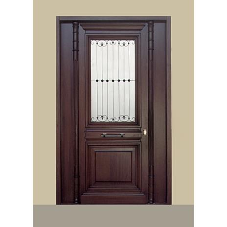 ΚΩΔ 101-2P  Νεοκλασική πόρτα εισόδου