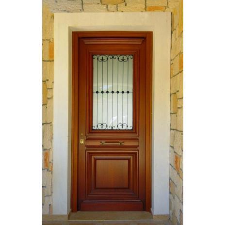 ΚΩΔ 101  Νεοκλασική πόρτα εισόδου μονόφυλλη