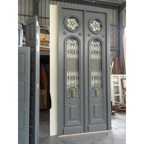 Neoclassical entrance door K106_2