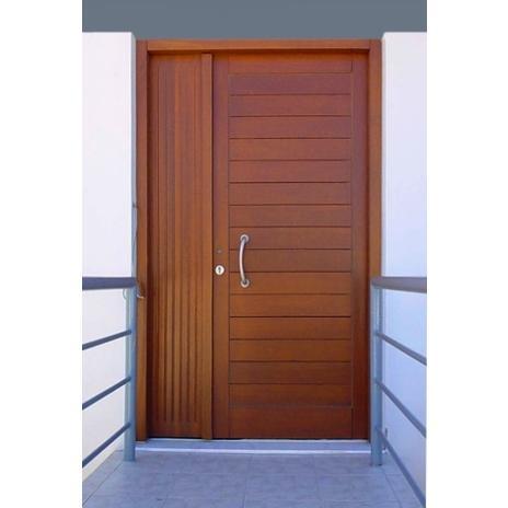 Πόρτα εισόδου με παραπέτι ανοιγόμενο, τυφλό, μασίφ