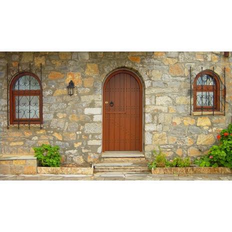 ΚΩΔ 401-r1  Παραδοσιακή πόρτα εισόδου