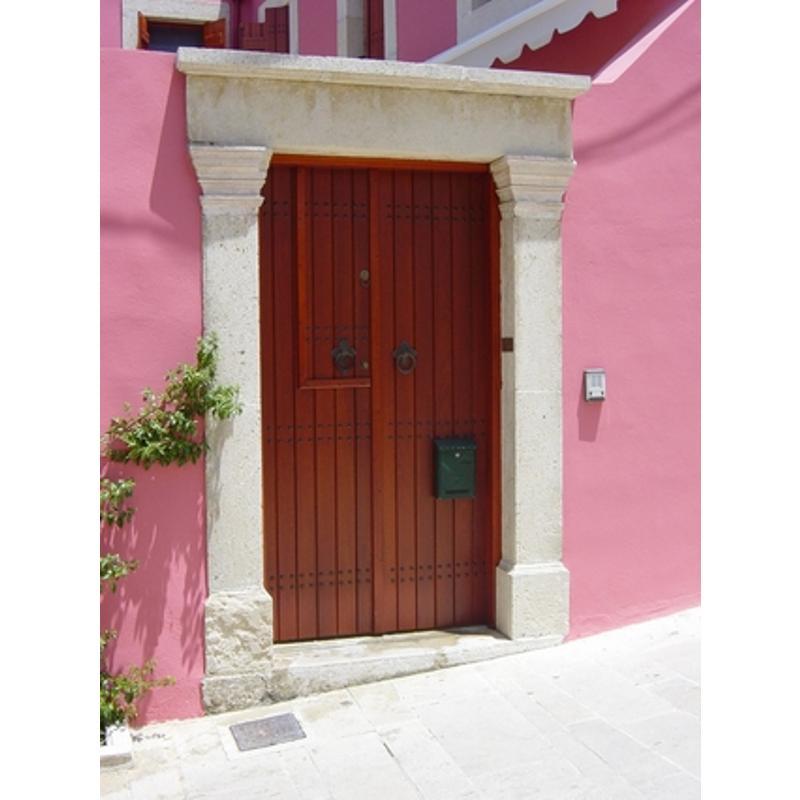 Παραδοσιακή πόρτα εισόδου Κ401_2
