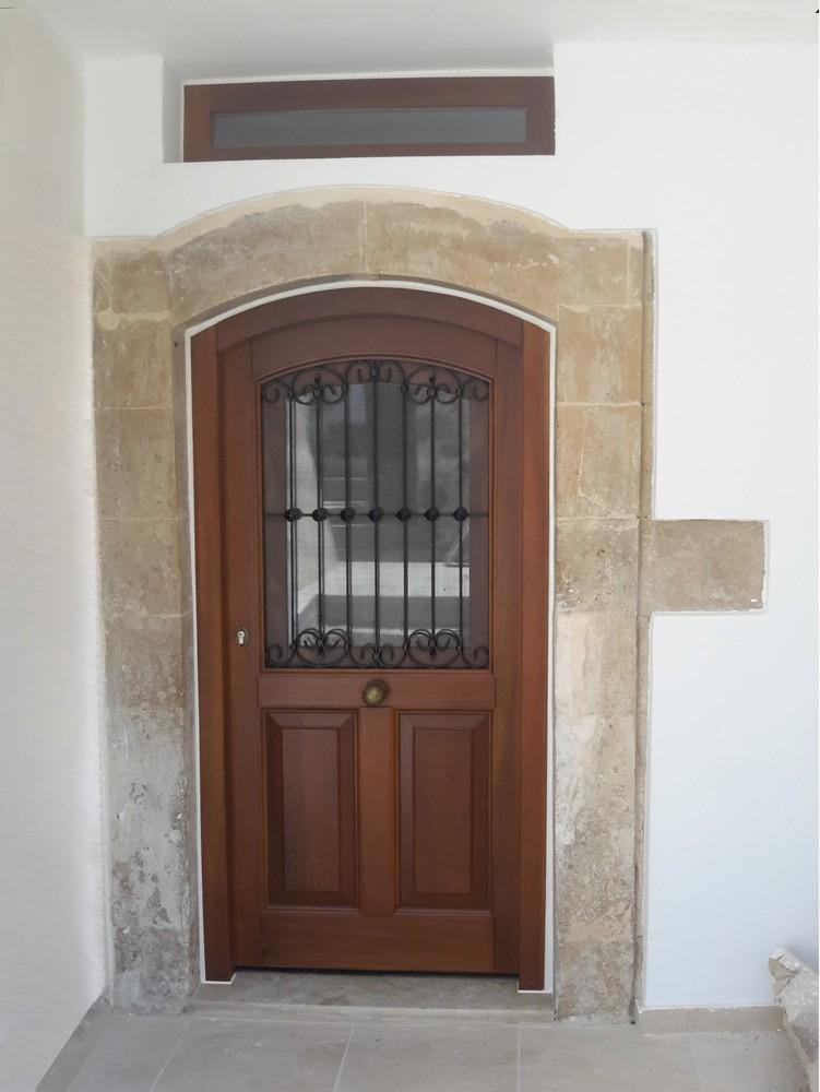 Παραδοσιακή πόρτα εισόδου Κ302_r1