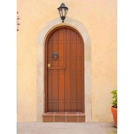 Traditional entrance door Κ401_r1