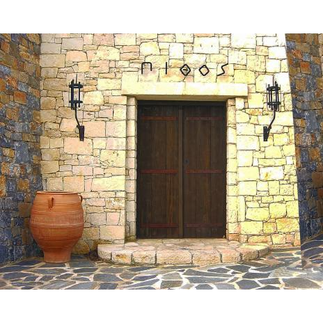 Traditional  entrance door K402_sabia