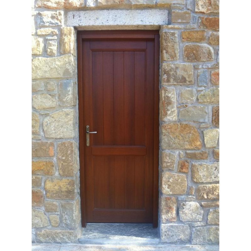 Παραδοσιακή πόρτα εισόδου Κ406