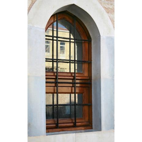 Παράθυρο μονόφυλλο από ξυλεία Καστανιάς