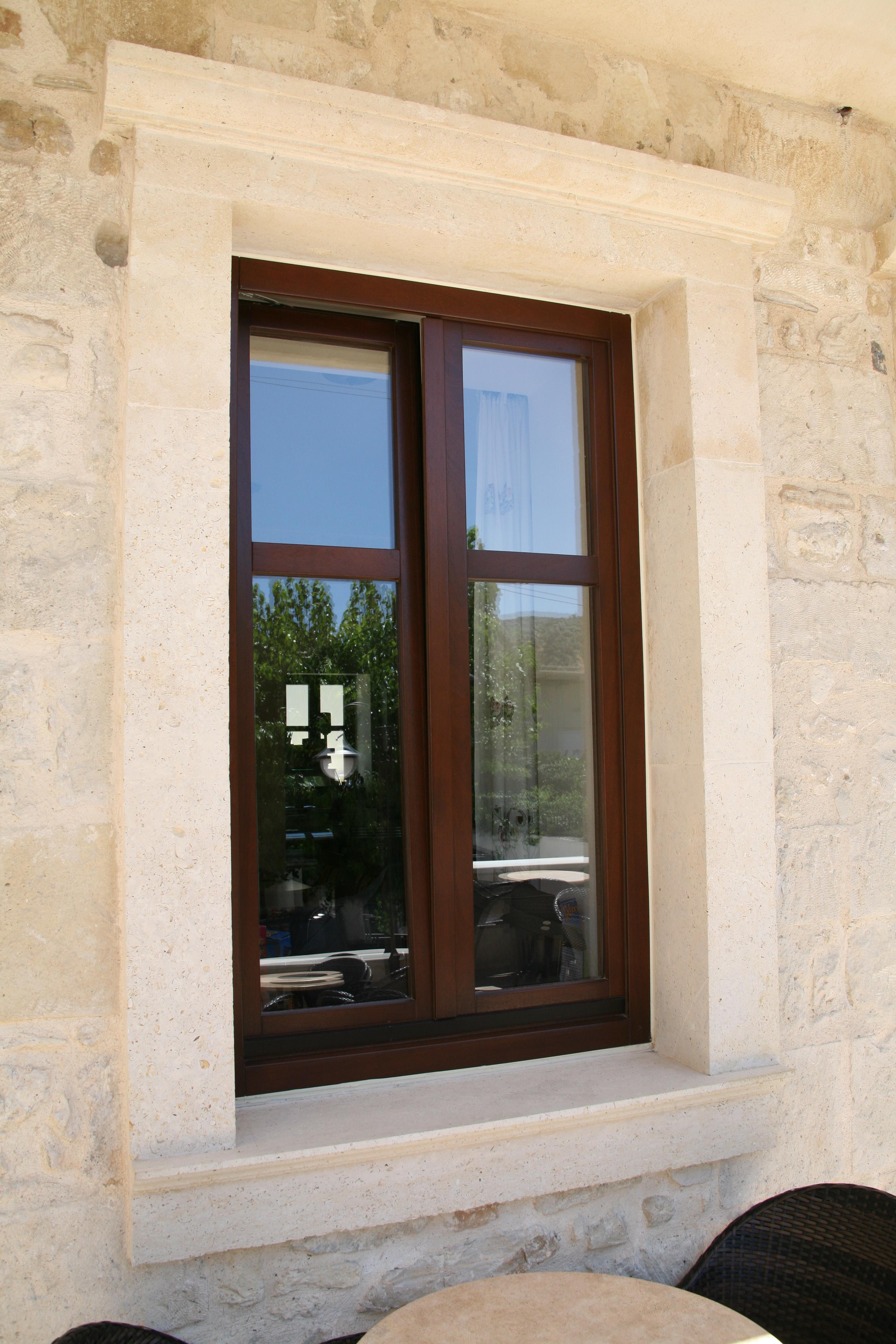 Reclining window