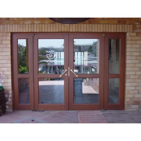 Entrance glass