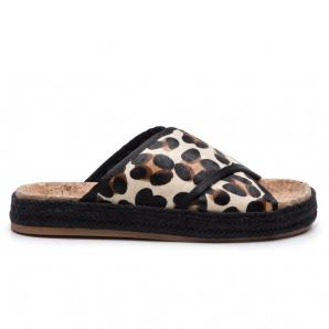 Scotch & Soda angle leopard sandals 18763599