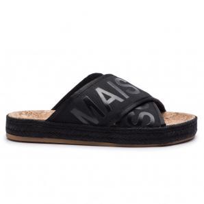 Scotch & soda angle satin sandals 18769598